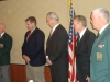 2012-2013 Chapter 78 Officers Lonny Holmes, Steve Cowan, Tom Redfern, Richard Simonian, and Mark Miller