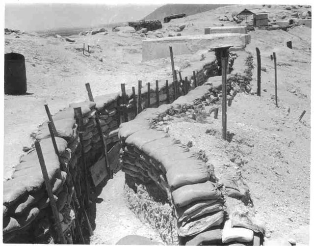 A-109 Trench Line