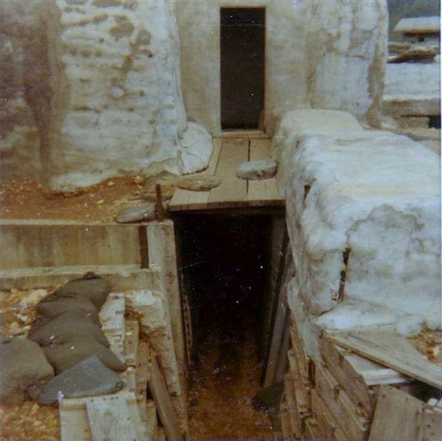 A-109 Bunker & Trenchline