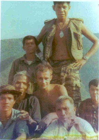 Ken Hernasy (standing) with Greg Biela (kneeling)