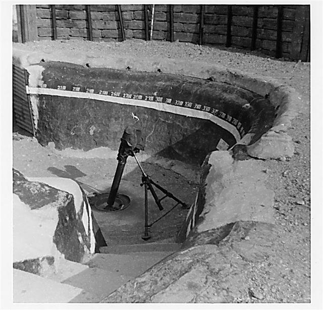 Thuong Duc mortar pit