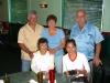Front - Catalina Biela & Niece Liza; Rear- Bob & Michelle Cierniak, Greg Biela