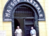 Ron Heugel (R) at Hanoi Hilton