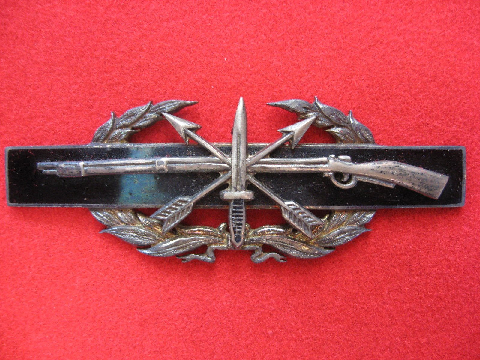 Royal Thai Border Police Counter Insurgency Badge Design By ODA 4624 1967