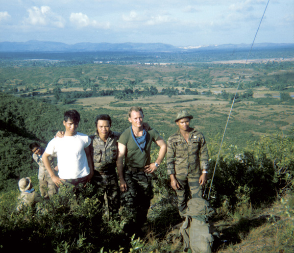 Mike Force Company on Operation 1968