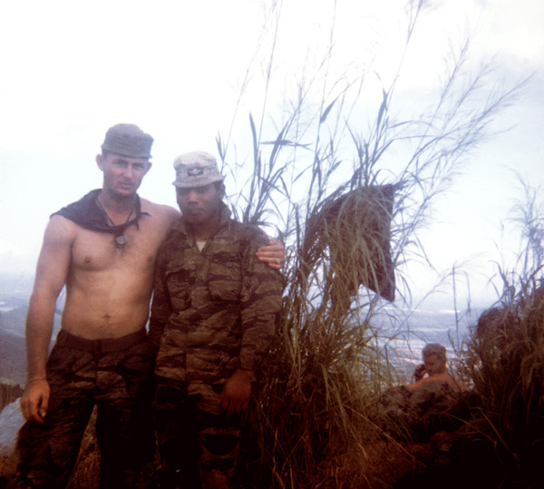Operation 1969 with Mike Force 261 Co SSG Holmes and Company Commander
