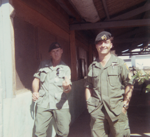 SFC Thomas SFC Charles Carpenter Kontum 1968