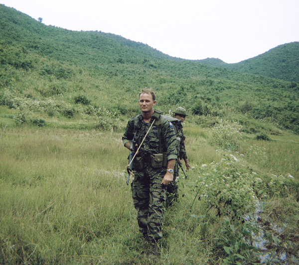 Platoon Leader SSG Holmes, Kontum Mike Force Company, Operation at Bonson 1969