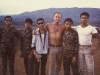 SSG L Holmes with Montagnards(mostly Rhade and Jarai) at Plei Djereng A-251, RVN, May 68