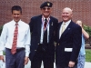 Jon J. Holmes, Special Forces LTC \'Wild\' Bill Taylor, Louis Holmes, Kimberly Holmes, at USC ROTC Award