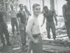 A 432 Building Camp Carroll Trang S Thailand 1966 - SFC J. P. Silk, SFC Bugs Moran, SGT Lonny Holmes, SGT Helms, SSG Oneil, CPT Greenwood, SFC Knuutilla