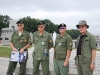 Gene and Jack Williams, Lonny Holmes, Gordon Denniston.  Memorial Day 2011, Washington DC