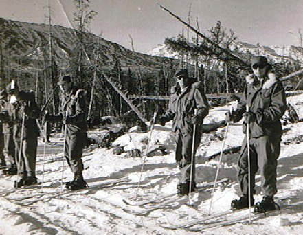 Lou Smith Ski Instructors School Black Rapids, AK 1959