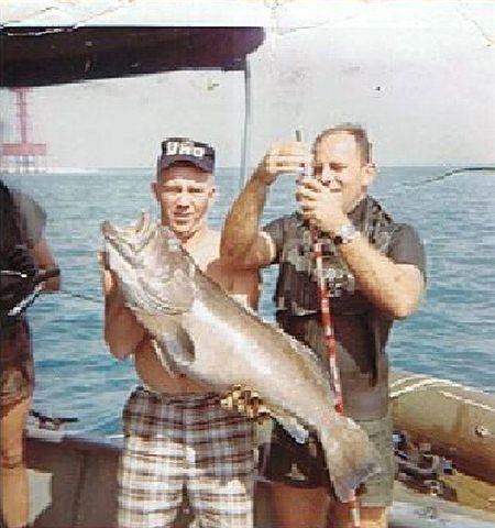 Lou Smith Under Water Committee Fishing Key West, FL