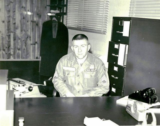 Promotion to E-7 Sunny Point , NC 1965