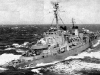 My Ship Uss Carpenter DDK 825 off the coast of Korea 1950