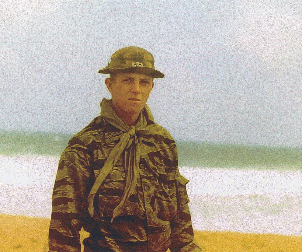 Mike Kemble - medic, 1st plt at red china beach RVN