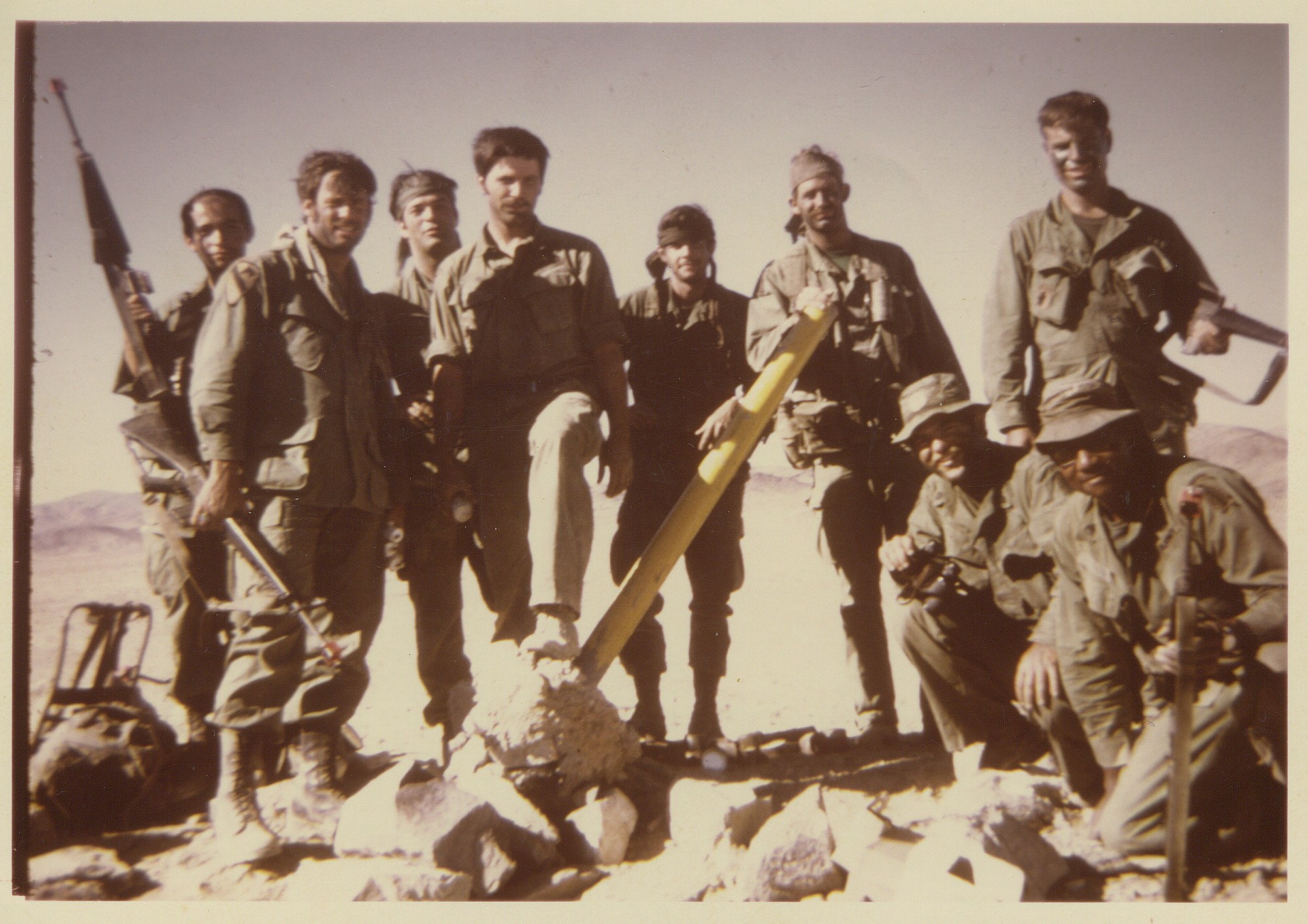 31 A 332 company C 3rd bn 12th special forces group a on desert patrol