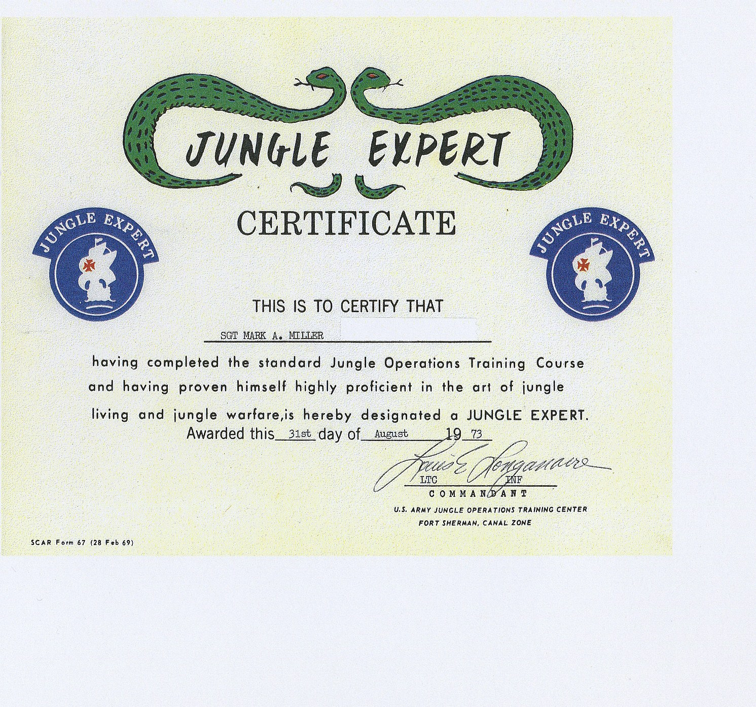 sgt_mark_miller_jungle_warfare_school_certificate