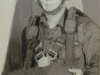 Mark Miller in jump school 43rd company,  Fort Benning GA