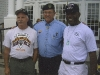 Left to Right - Mark Miller, Colonel Roger Donlon MOH Special Forces