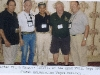 Left to Right -  CSM Ramon Rodriguez, Mark Miller, Colonel T Moc, Lou Smith, Brad Welker