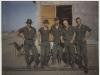 Left to Right - Mark Miller, Calvin Rollins, Walter Peavy, Steve Northington, Brian Yost - MACV Recondo school Nha Trang RVN - 1967