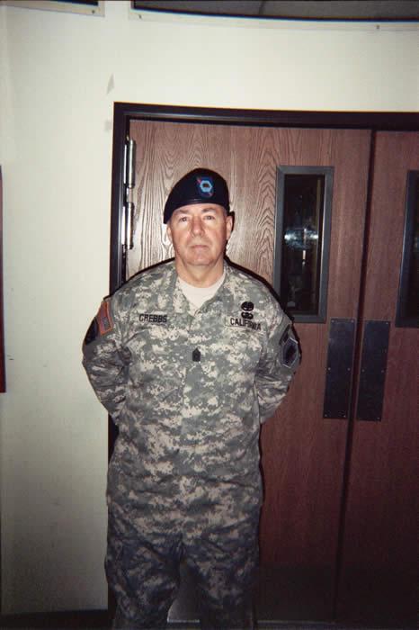 SGM. Robert Crebbs, June 2005