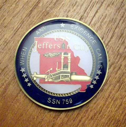 Jefferson City Commander\'s Coin