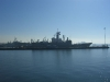 A nice view of one of the Navy\'s finest--USS Mobile Bay