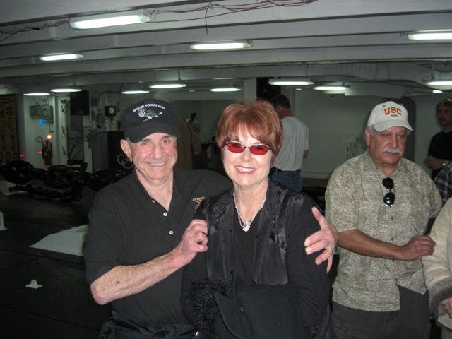 (L) Richard Simonian and wife, (R) Terry Cagnolatti