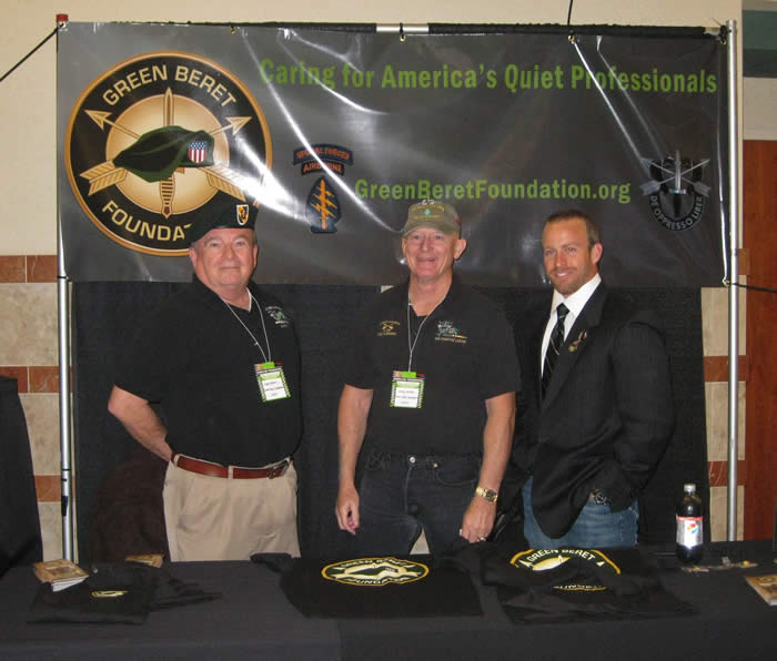 The Green Beret Foundation Booth