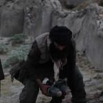 Kaaseb (Oren Dayan) the Taliban placing the I.E.D.