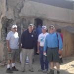 Chapter 78's Military Advisors, Terry Cagnolatti, Steve Cowan, Lonny Holmes, Brad Welker.