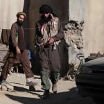Kaaseb (Oren Dayan) and Rafel (Hugh Mun), the Taliban, after killing Yasmeen and stabbing Najeeb.