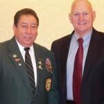 Ramon Rodriquez and LTG William Boykin