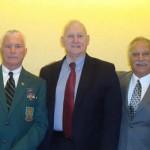 Mark Miller, LTG William Boykin, Terry Cagnolatti.