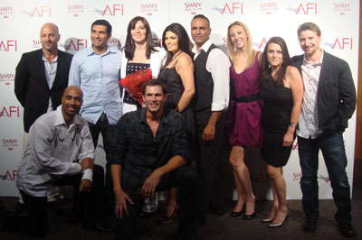 Velvet Andrews Smith, Director and Screen Play writer with Cast of Ripple Effect