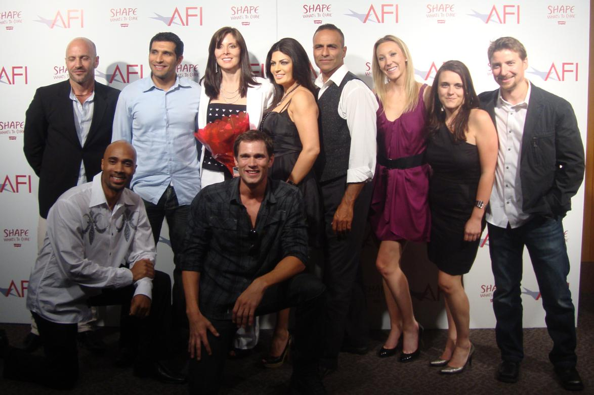 Velvet Andrews Smith, Director and Screen Play writer with Cast of Ripple Effect.