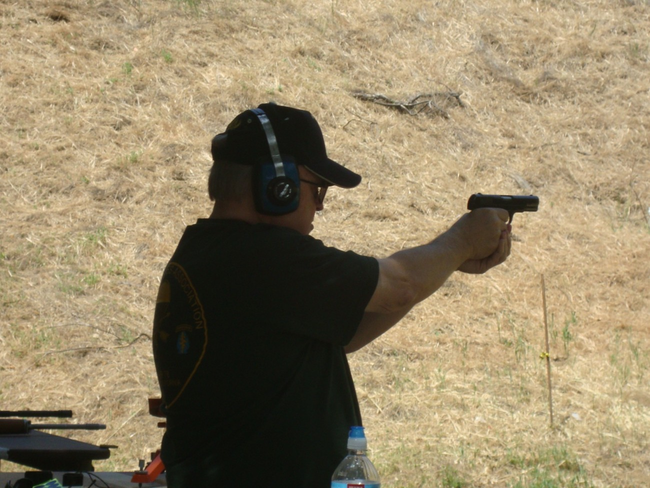 Ed Barrett shooting the Colt Model 1903 Generals pistol