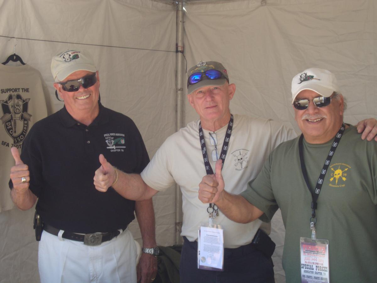 Bruce, Lonny & Terry at the sale of 500th raffle ticket