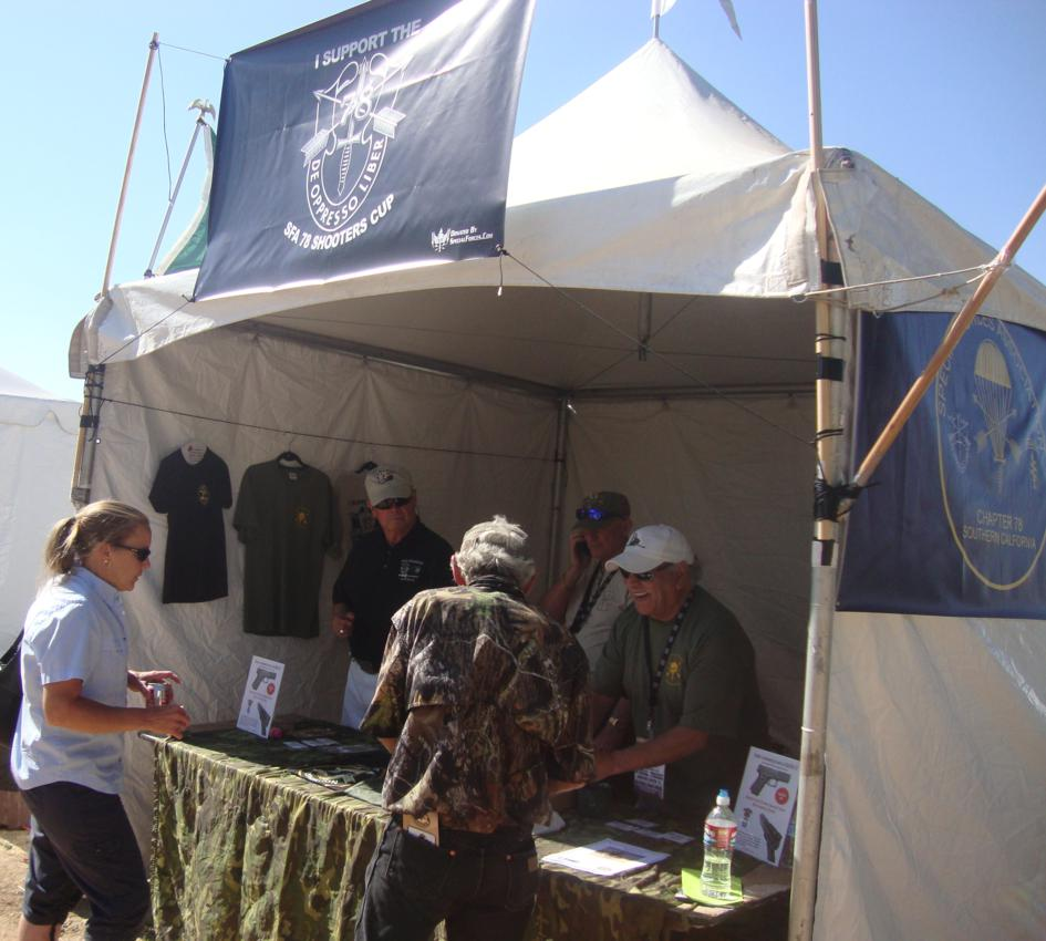 Shooters Cup Booth in Action