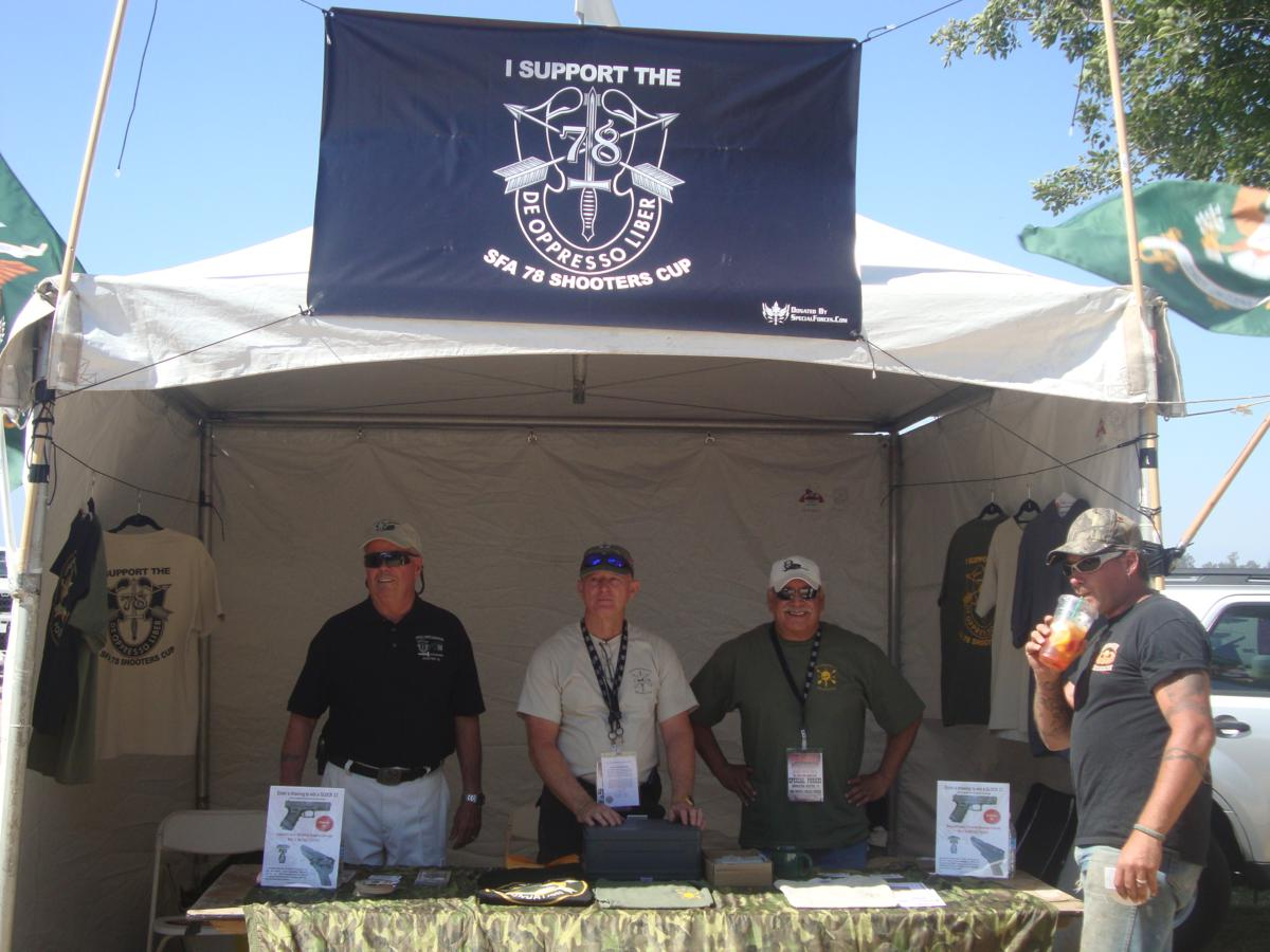 Shooters Cup Salesmen, Bruce Long, Lonny Holmes, Terry Cagnolatti.